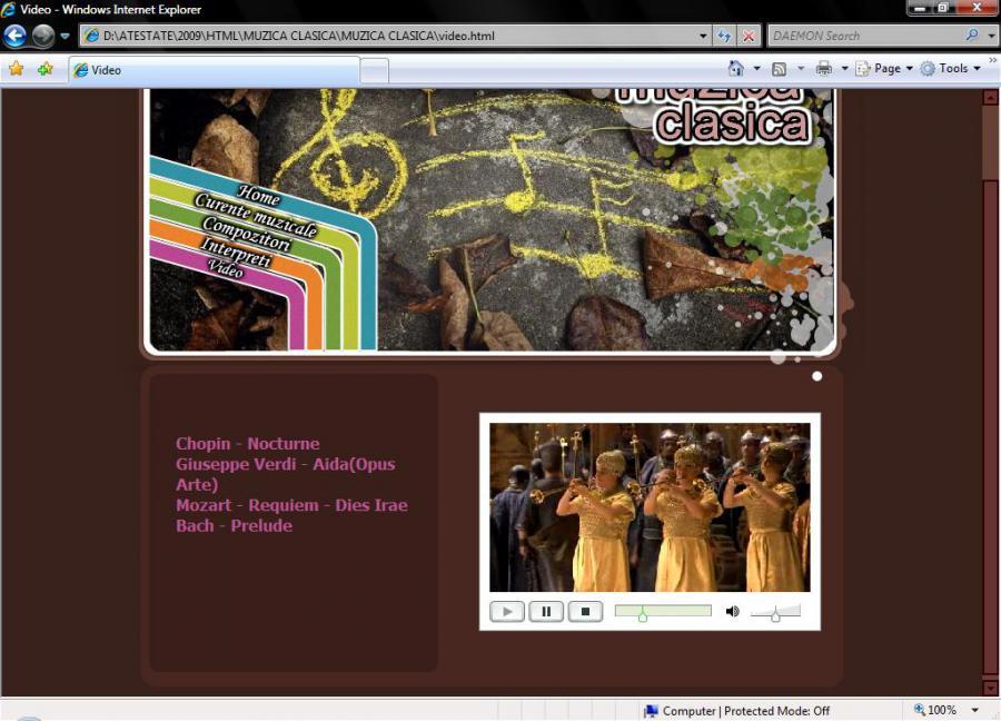 Atestat informatica Muzica clasica