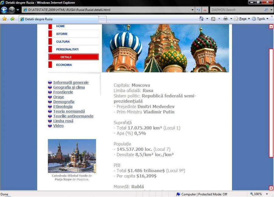 Atestat informatica Rusia