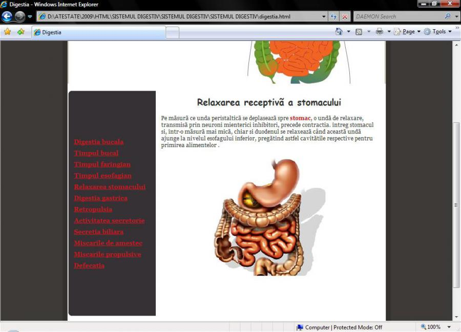 Atestat informatica Sistemul digestiv