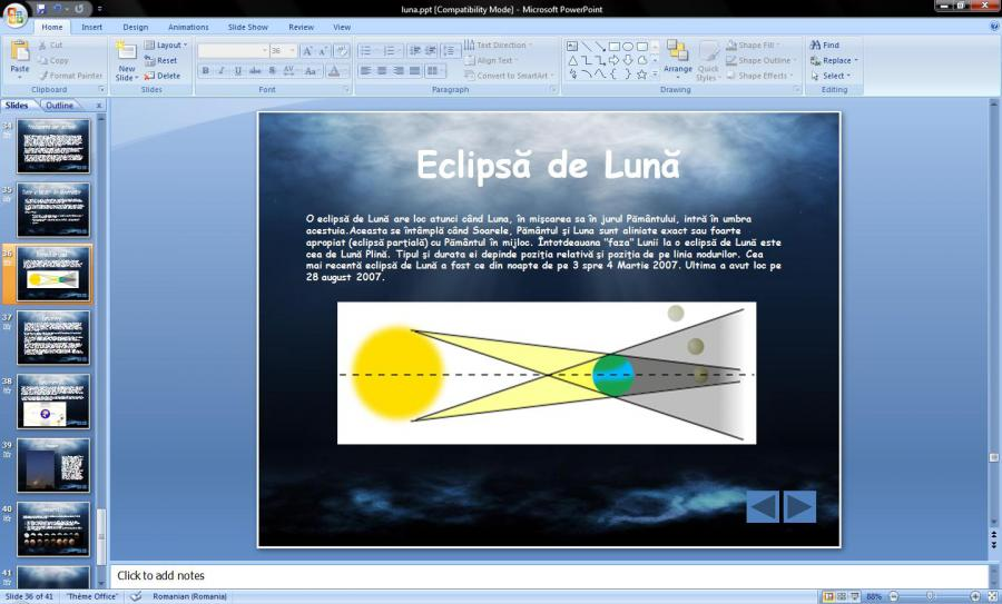 Atestat informatica Luna