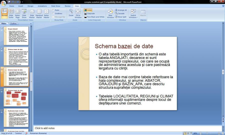 Atestat informatica Complex zootehnic