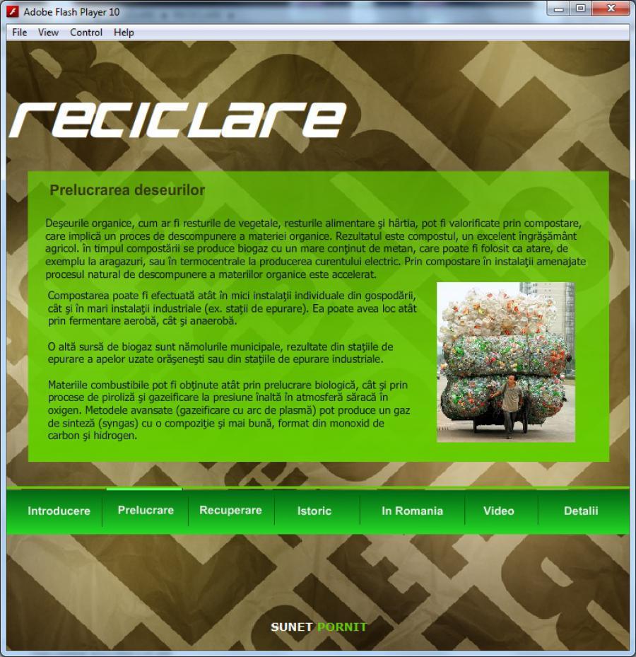 Atestat informatica Reciclarea
