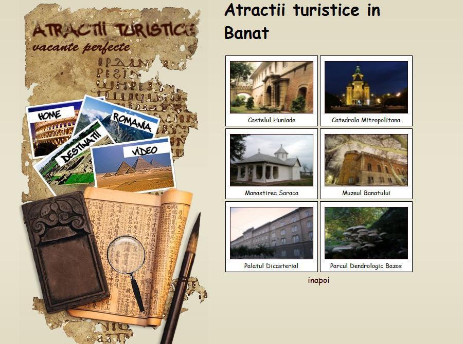 Atestat informatica Atractii turistice