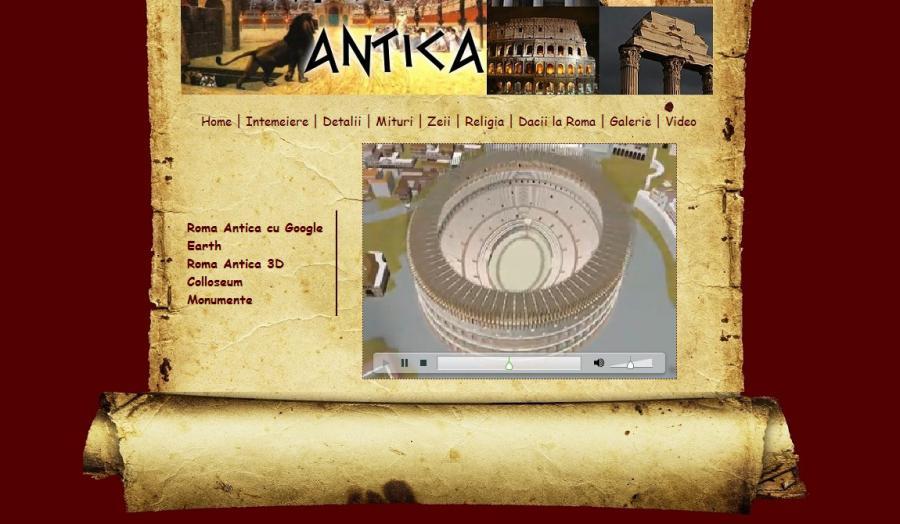 Atestat informatica Roma antica