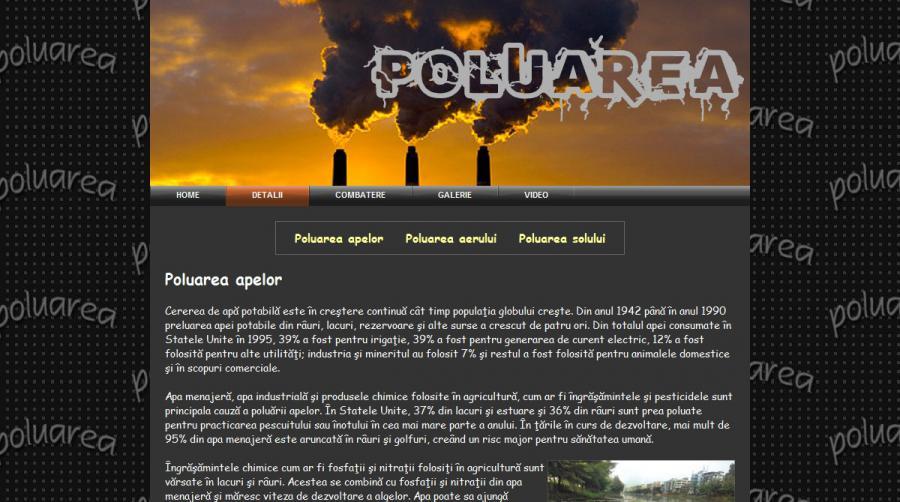 Atestat informatica Poluarea