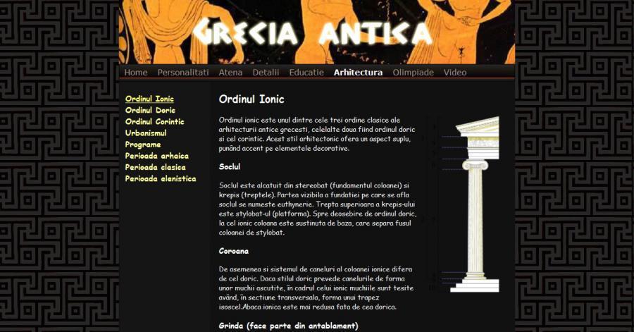 Atestat informatica Grecia antica