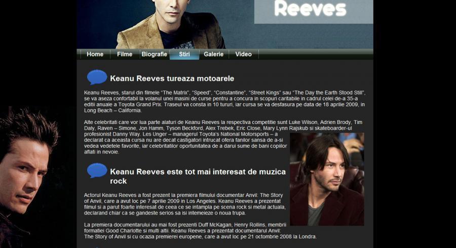 Atestat informatica Keanu Reeves
