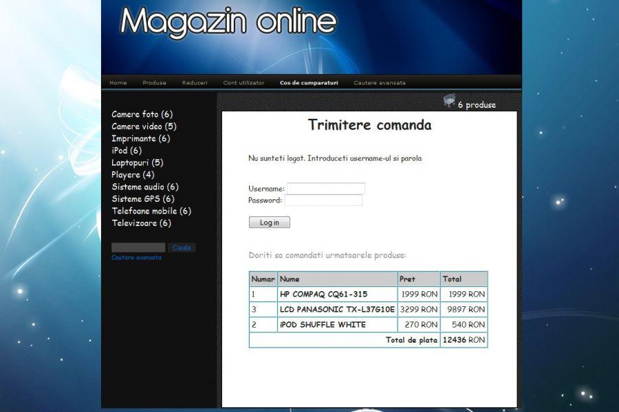 Atestat informatica Magazin online de electronice