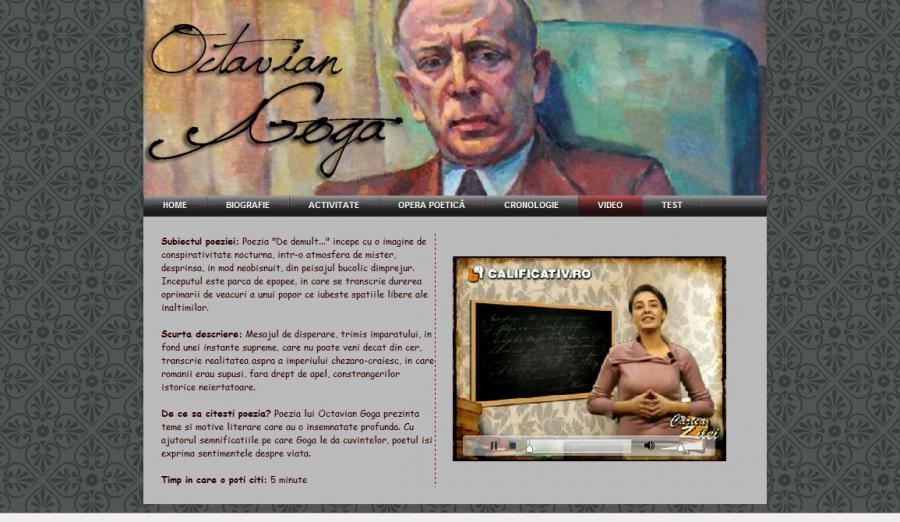 Atestat informatica Octavian Goga