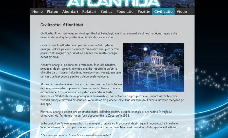 Atestat informatica Atlantida