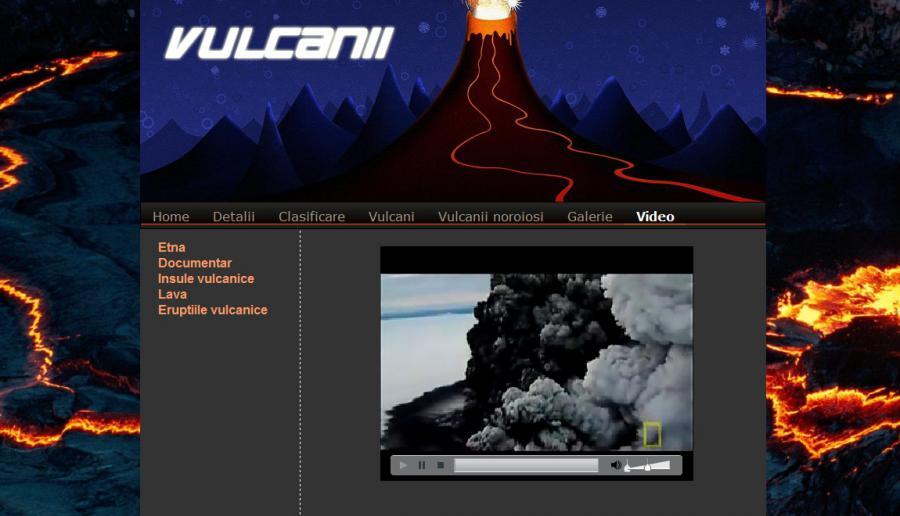Atestat informatica Vulcani