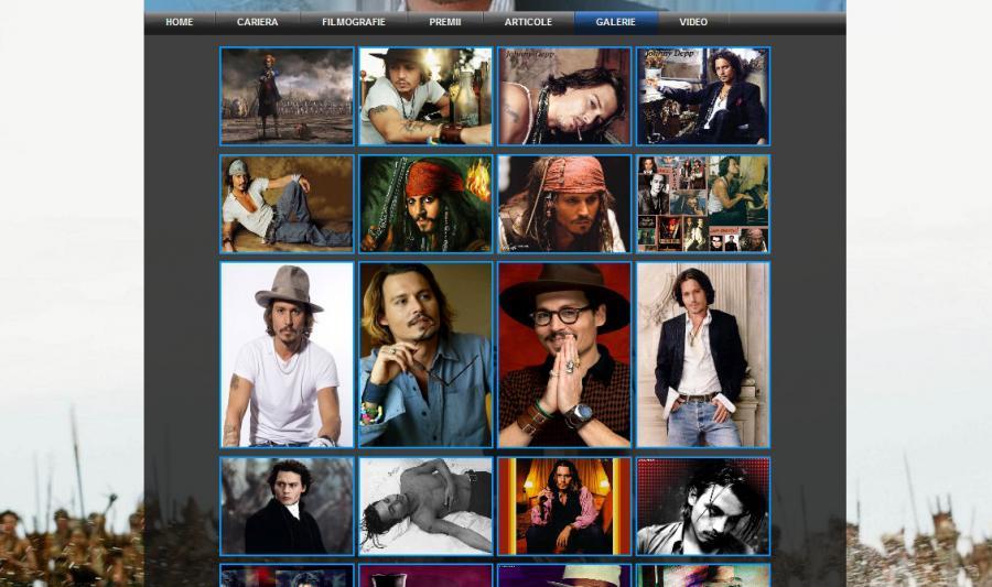 Atestat informatica Johnny Depp