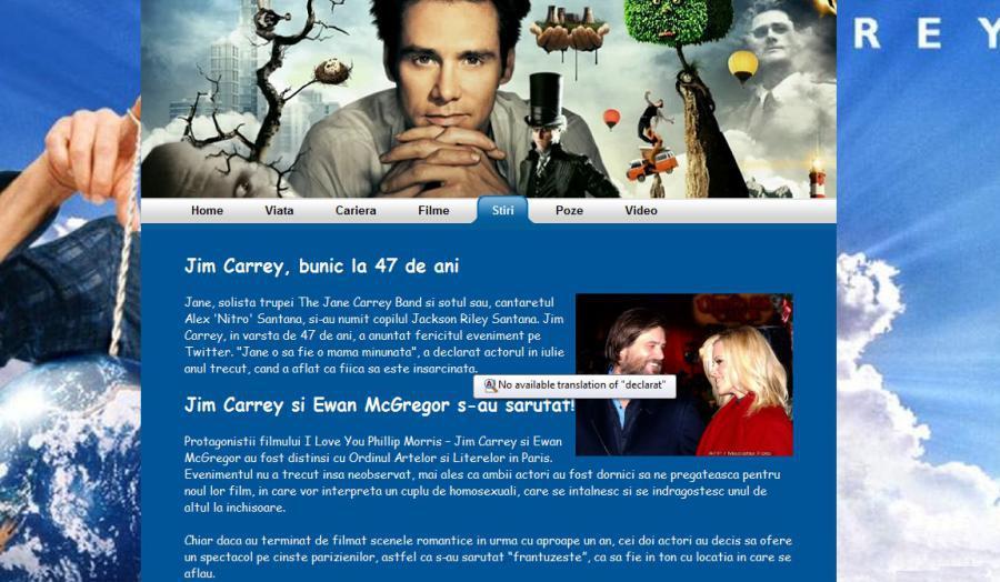 Atestat informatica Jim Carrey