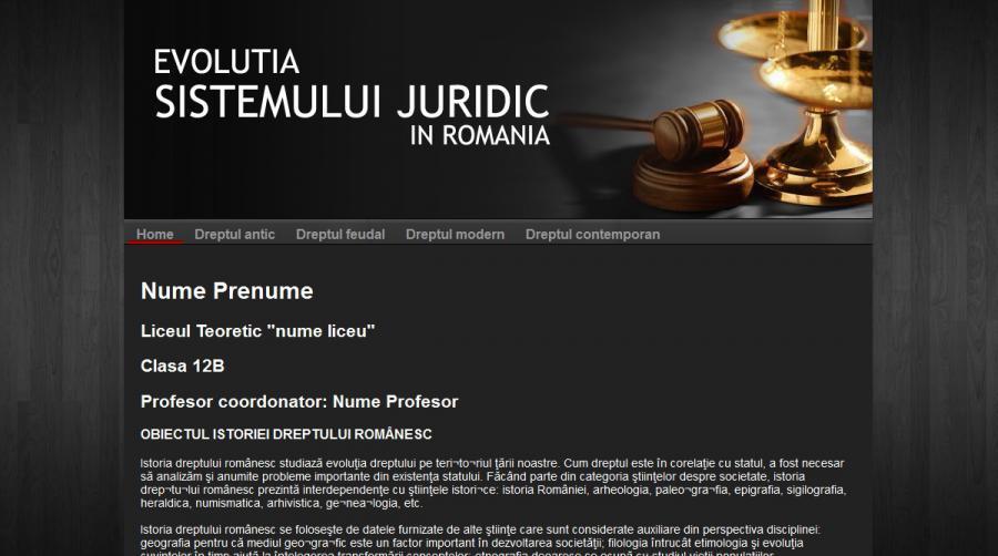 atestat informatica sistemul juridic