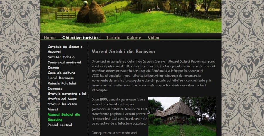 Atestat informatica Obiective turistice din Suceava