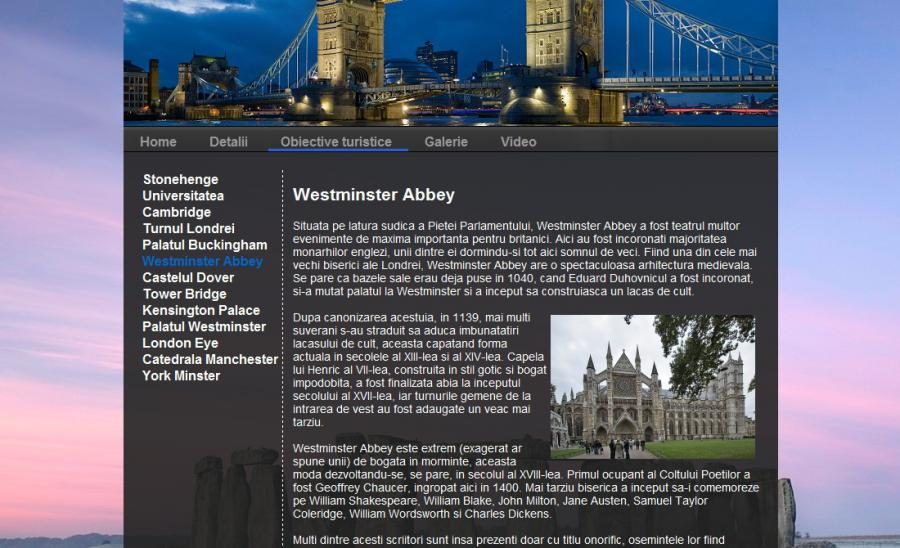 Atestat informatica Anglia