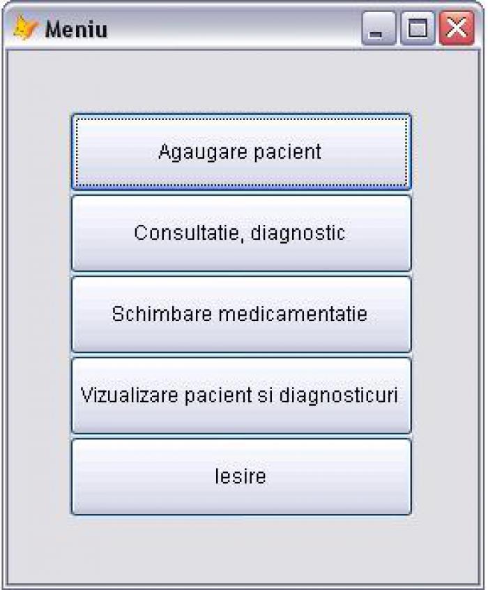 Atestat informatica Cabinet medical