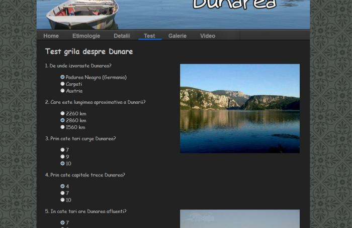 Atestat informatica Dunarea