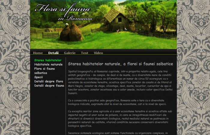 Atestat informatica Flora si fauna