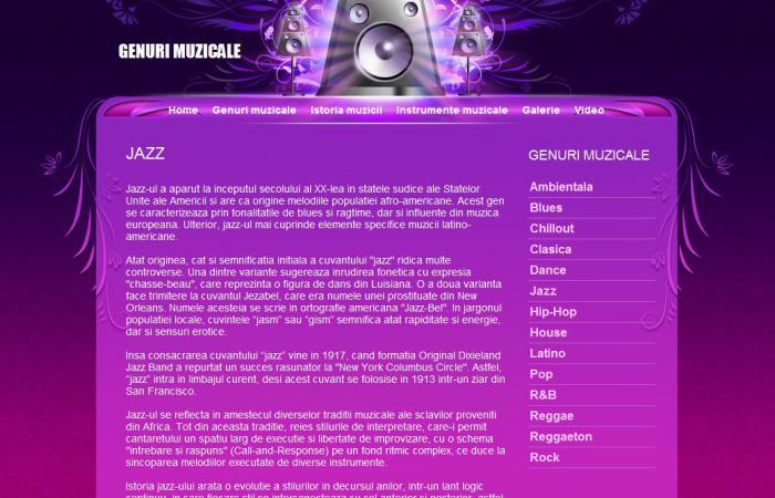 Atestat informatica Genuri muzicale