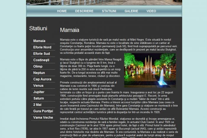 Atestat informatica Litoralul romanesc