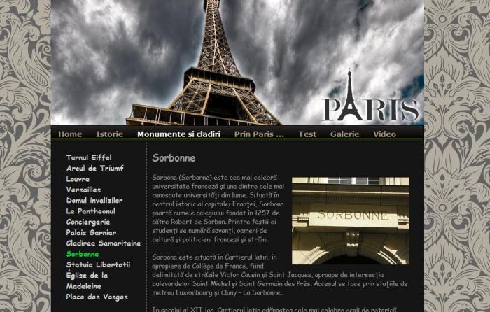 Atestat informatica Paris 2