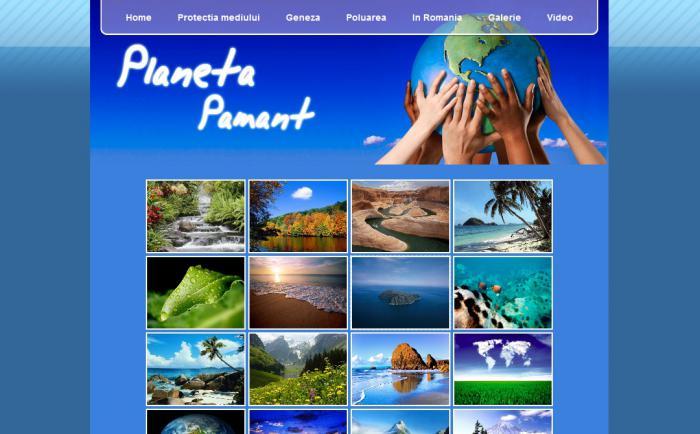Atestat informatica Planeta pamant