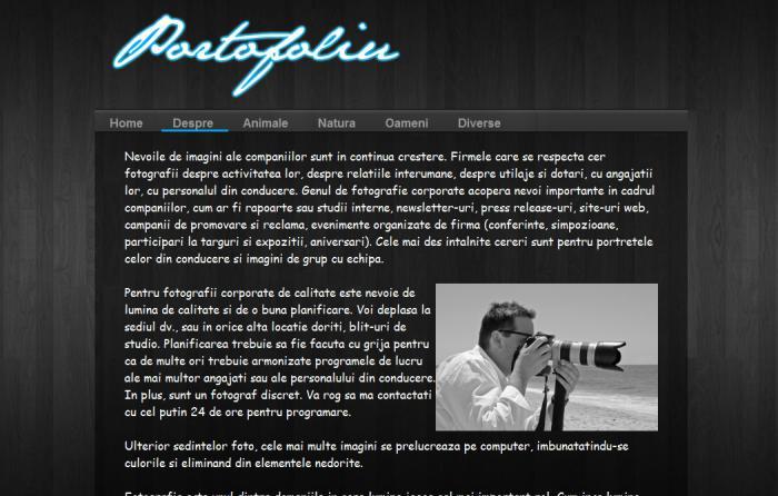Atestat informatica Portofoliu fotograf