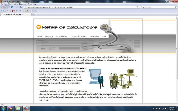 Atestat informatica Retele de calculatoare