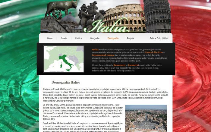 Atestat informatica Italia