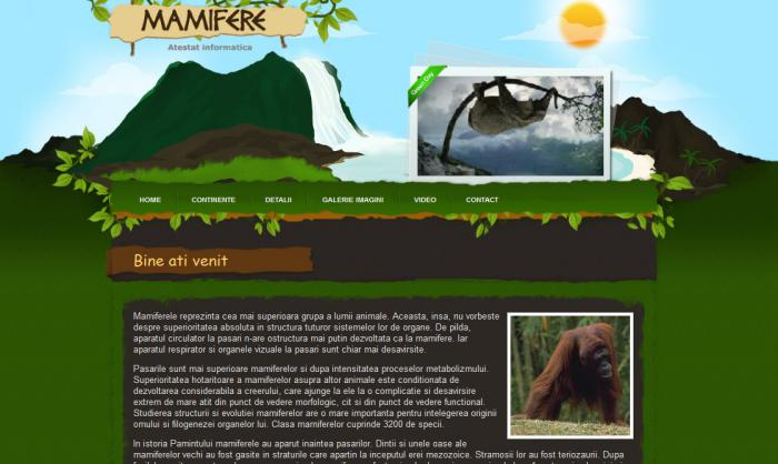 atestat informatica mamifere