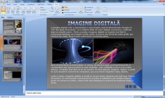 Atestat informatica Fotografia de-a lungul timpului