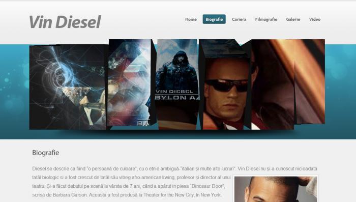 Atestat Vin Diesel