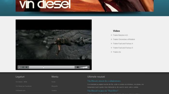 Atestat informatica Vin Diesel