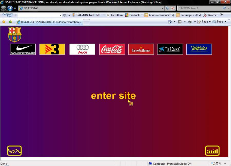 Atestat informatica FC Barcelona