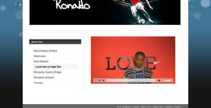 Atestat informatica Cristiano Ronaldo