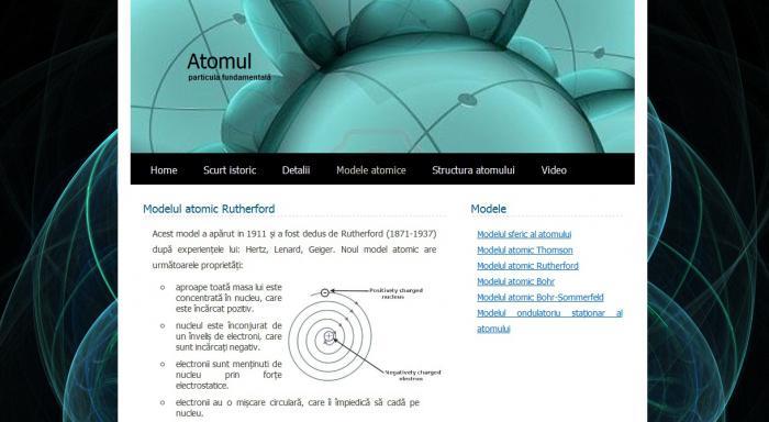 Atestat informatica Atomul - particula fundamentala
