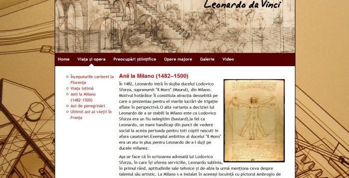 Atestat informatica Leonardo da Vinci