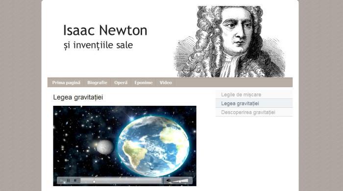 Atestat informatica Isaac Newton si inventiile lui