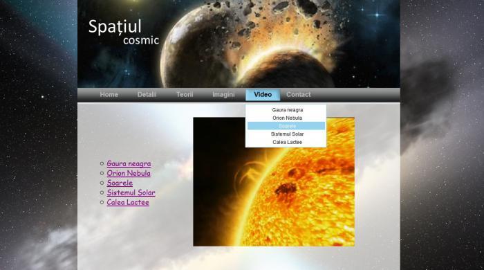 Atestat informatica Spatiul cosmic