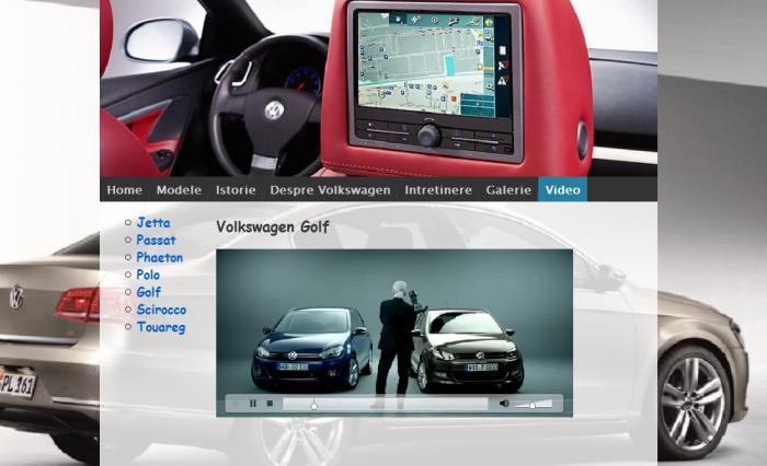 Atestat informatica Volkswagen