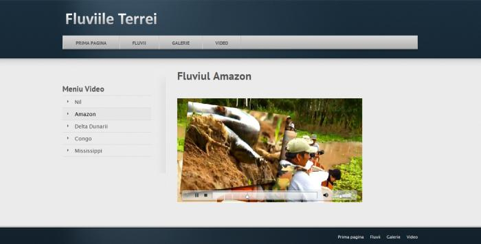 Atestat informatica Fluviile Terrei