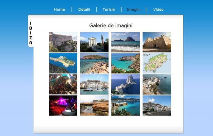 Atestat informatica Ibiza