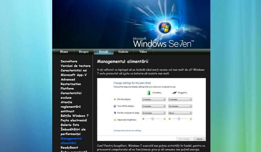 Atestat informatica Windows 7