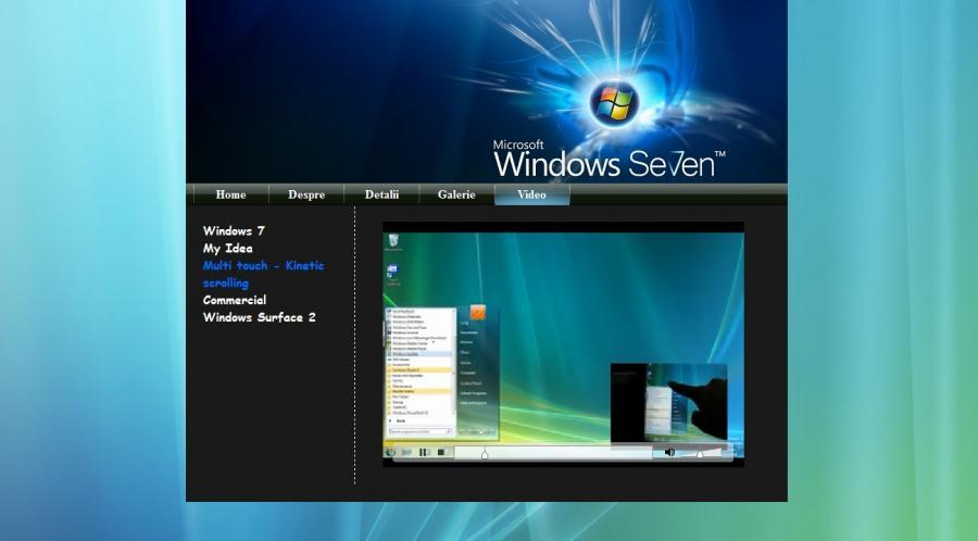 Atestat informatica Windows 7