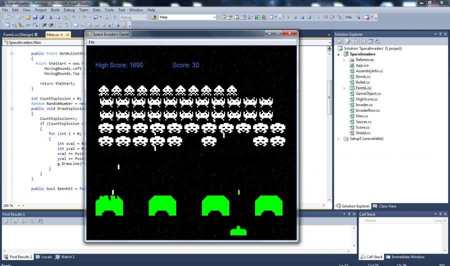 Atestat informatica Jocul Space Invaders