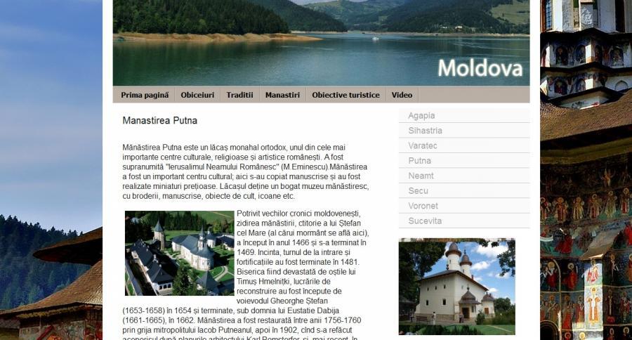 Atestat informatica Moldova - Obiceiuri si Atractii turistice