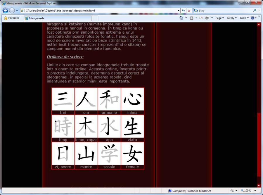 Atestat informatica Arta japoneza