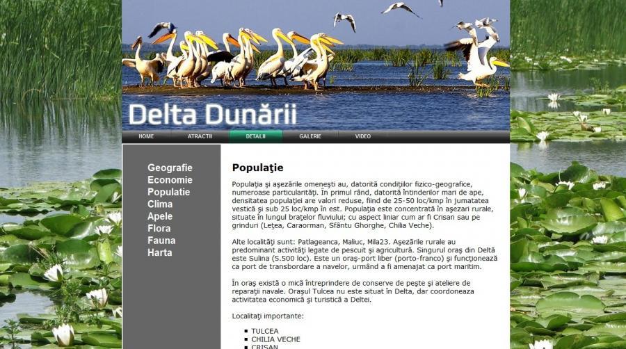 Atestat informatica Delta Dunarii 2