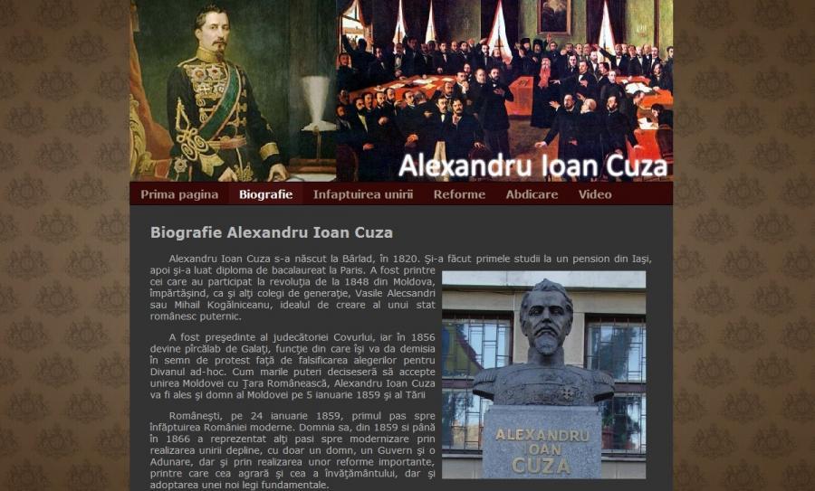 Atestat informatica Alexandru Ioan Cuza